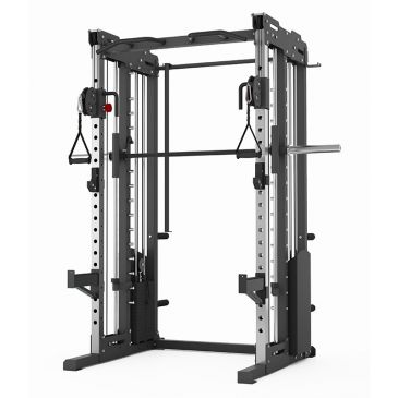 Titanium Strength Comercial Dual Pulley, Smith System & Rack, Fitness, Crossfit, Workout, Home Gym, Arms, Chest, Shoulders, Power Cage, Functional