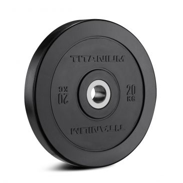 Discos Olímpicos Titanium Strength, Fitness, Crossfit, Workout, Home Gym, Arms, Chest, Shoulders, Power Cage, Functional