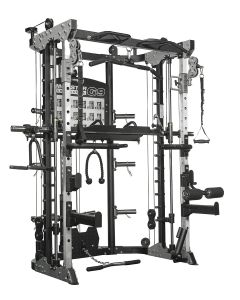Force USA Monster Commercial G12 - Double Pulley (90.5 kg), Multipower, Power Rack and Leg Press