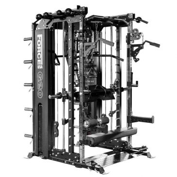 Force USA G20 Functional Trainer , Smith Machine, Squat Rack, Vertical Leg Press Workout, Multigym, Fitness, Functional, Home Gym, Power Cage