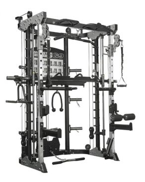 Force USA Monster Commercial G9: Functional Trainer, Smith, Rack and Leg Press