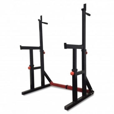 Titanium Strength Squat Rack / Dip Stand, Fitness, Crossfit, Workout, Home Gym, Arms, Chest, Shoulders, Power Cage, Functional
