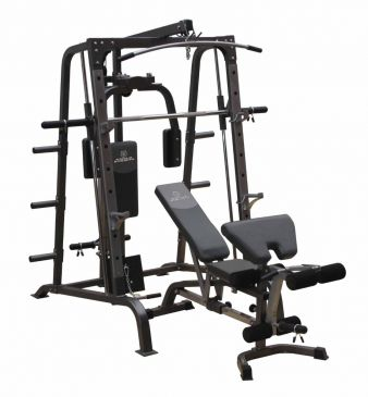 Titanium Strength Total Smith Machine & High Lat/Low Row, Fitness, Workout, Home Gym, Multistation, Full Body