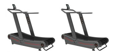 Titanium Strength Pack 2 Curved Treadmill