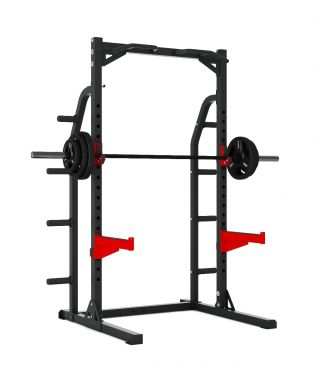 Titanium Strength Evolution Heavy Duty Half Rack, Strength, Workout, Home Gym, Fitness, Crossfit